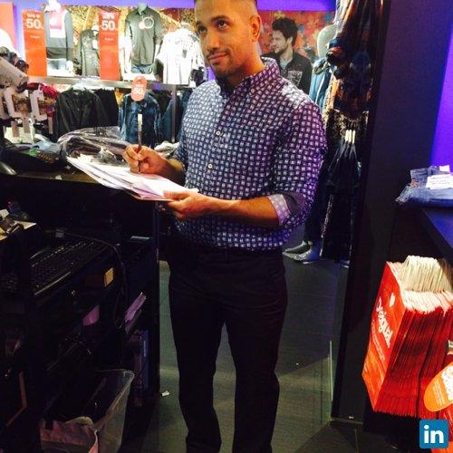 Vincent Hernandez's Profile on Staff Me Up