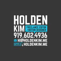 Holden Kim's Profile on Staff Me Up