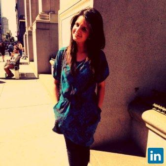 Sarah Javed's Profile on Staff Me Up