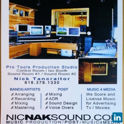 Nic Nak Sound's Profile on Staff Me Up